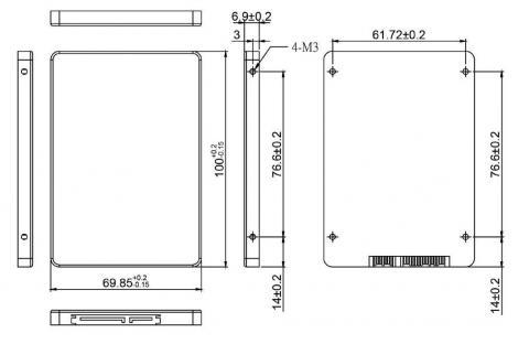 SSD SATA-6G 2,5/CIS-2SM336MKB064GS  3