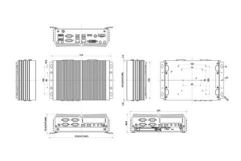 Spectra PowerBox 300-i5-6GLAN  3
