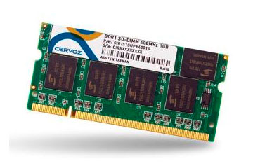 SO-DIMM DDR 1GB/CIR-S1SUPE3301G