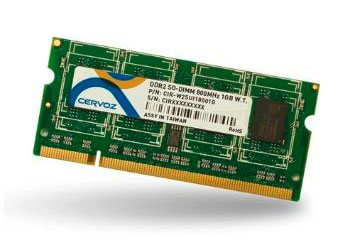 SO-DIMM DDR2 1GB/CIR-W2SUMG8001G