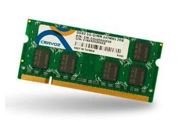 SO-DIMM DDR2 2GB/CIR-S2SUMG6602G