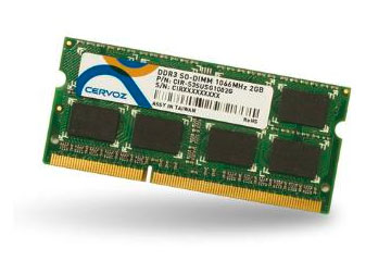 SO-DIMM DDR3 2GB/CIR-S3SUSIM1602G