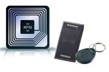 RFID-Chip-Identifikation