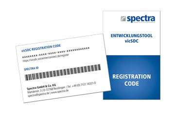 Spectra PowerBox 100-IVC Registrierungscode